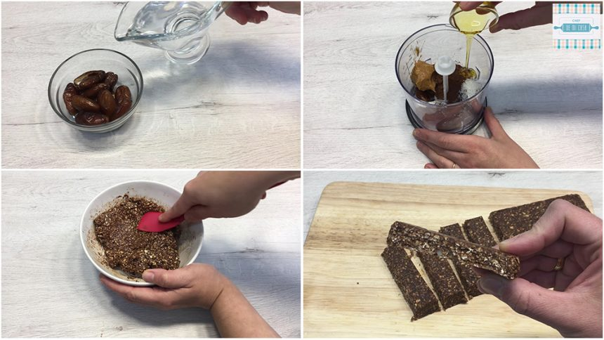 Receta de Barritas de Chocolate