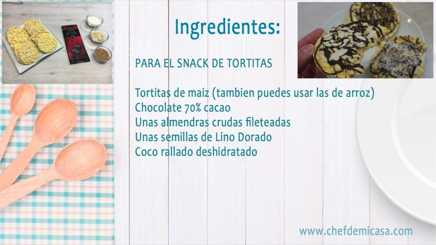 Snacks Saludables - Snacks con Chocolate