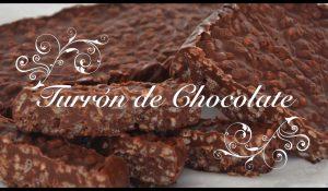 Receta de Turrón de Chocolate