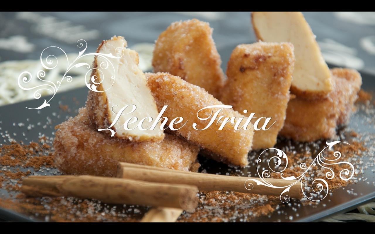 Receta de Leche Frita