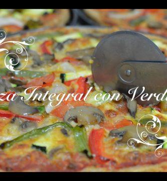 Pizza Casera Integral