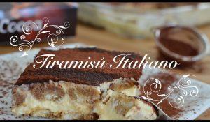 Tiramisu italiano casero