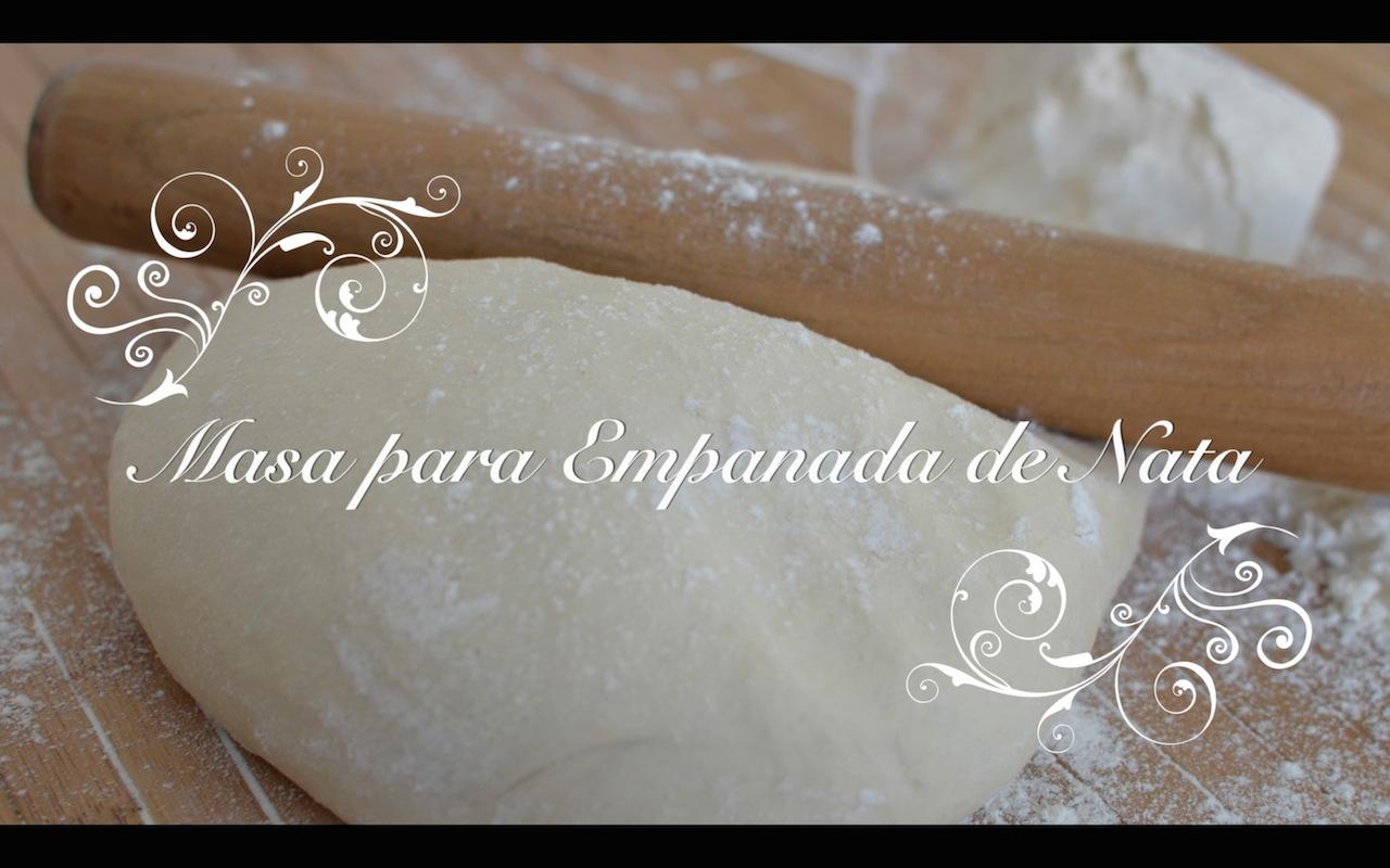 Masa para empanadas con nata chef de mi casa - Como hacer nata para cocinar ...