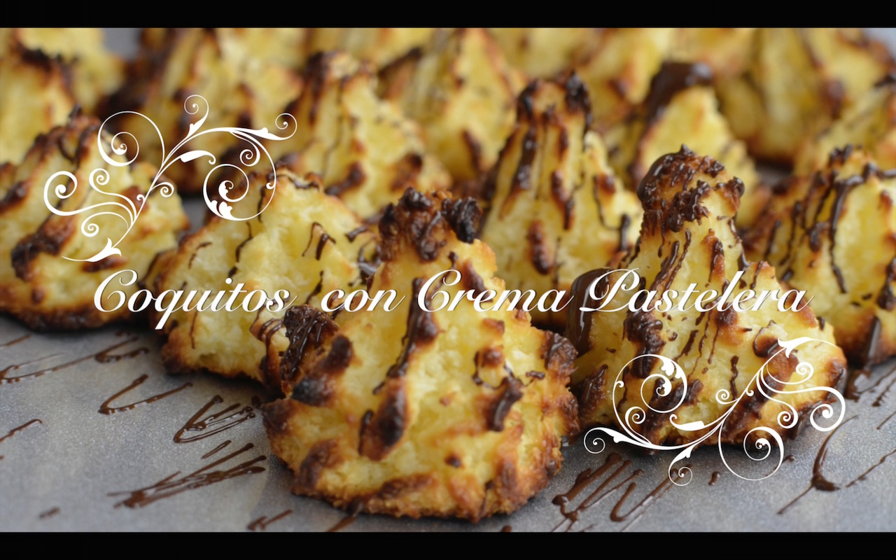 Foto de Coquitos con Crema Pastelera