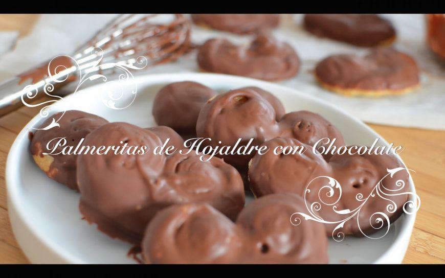 Foto de Palmeritas de Hojaldre con Chocolate