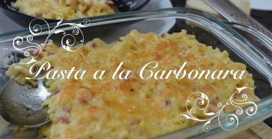 Foto Pasta a la Carbonara