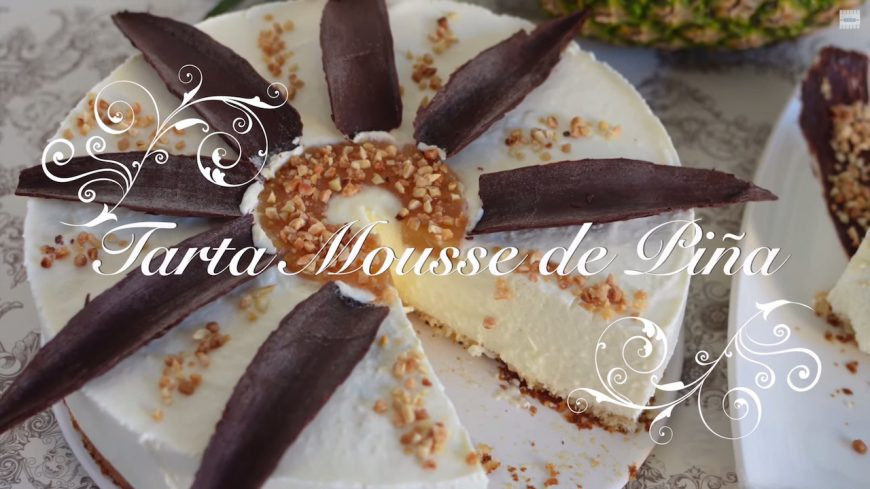 Foto Tarta Mousse de Piña