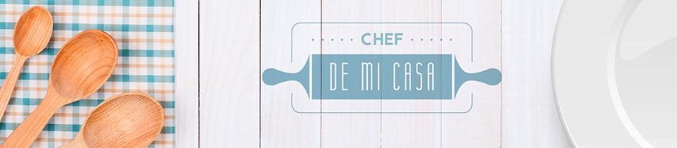 banner chef de mi casa