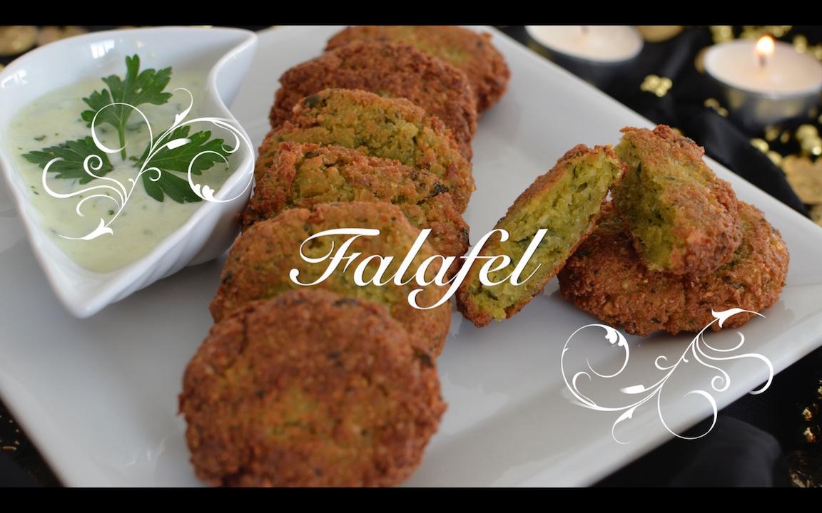 Receta Falafel con salsa de yogur