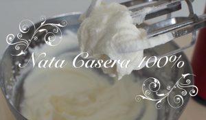 Receta de Nata Casera y Trucos para Montar Nata