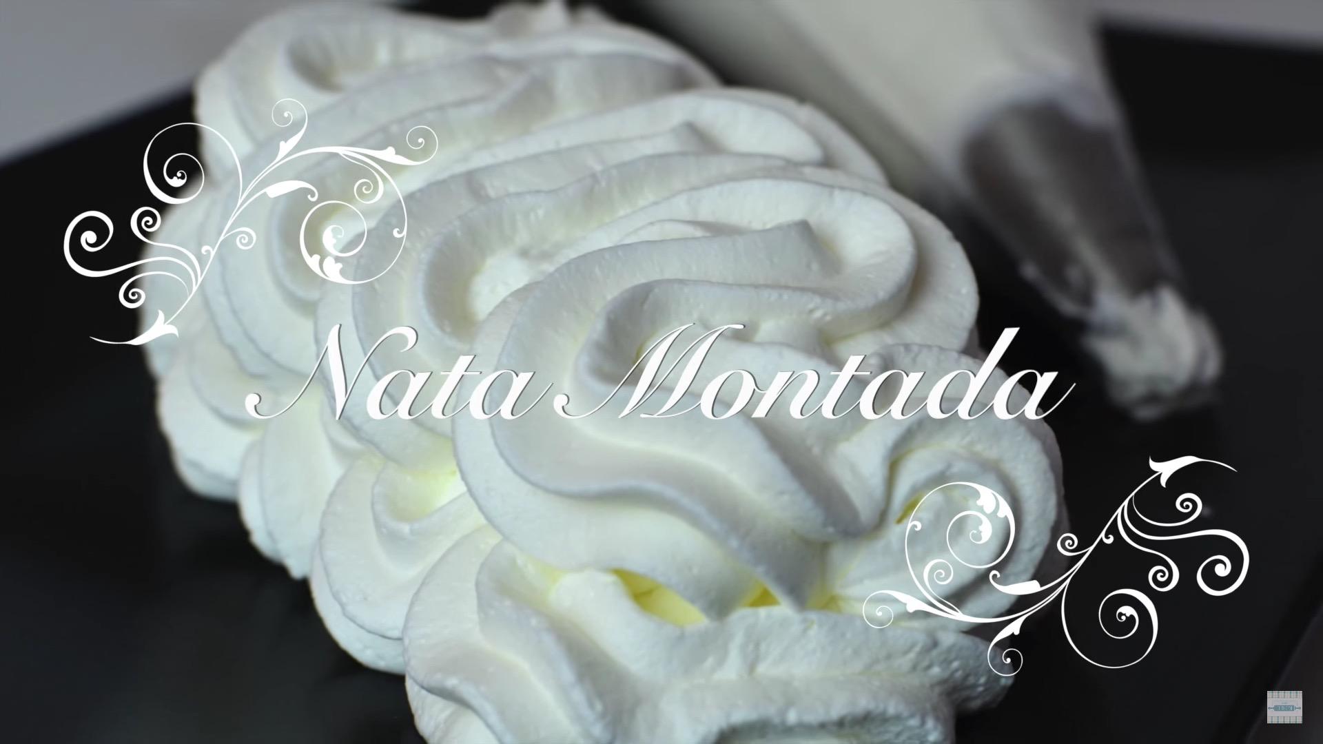 Nata Montada Vegetal
