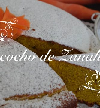 Receta de Bizcocho de Zanahoria