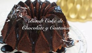 Receta de Bundt Cake de Chocolate