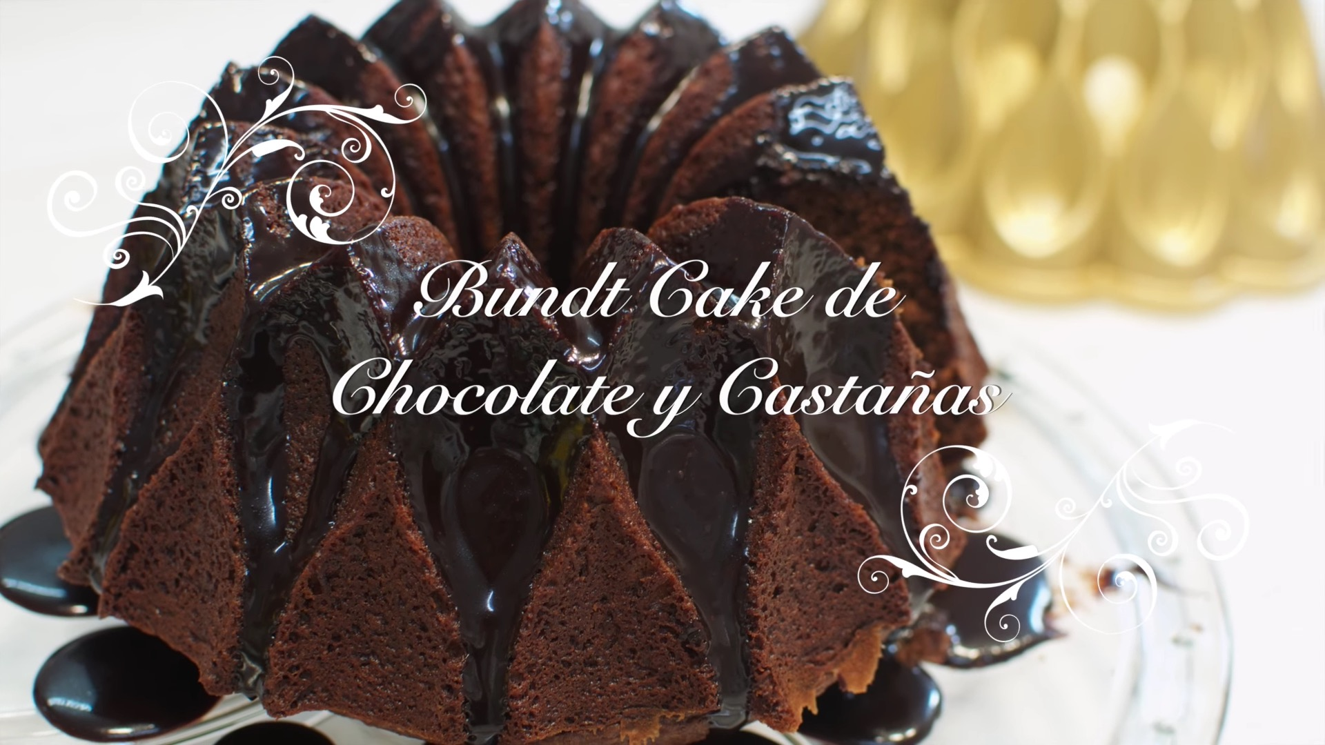 Receta de Bundt Cake de Chocolate