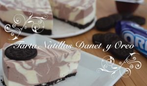 Receta de Tarta de Natillas y Galletas Oreo