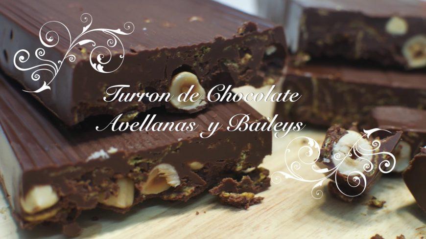 Receta de Turrón de Chocolate y Avellanas