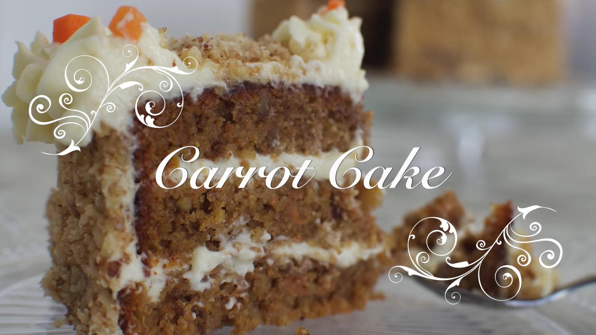 Receta de Carrot Cake en Español