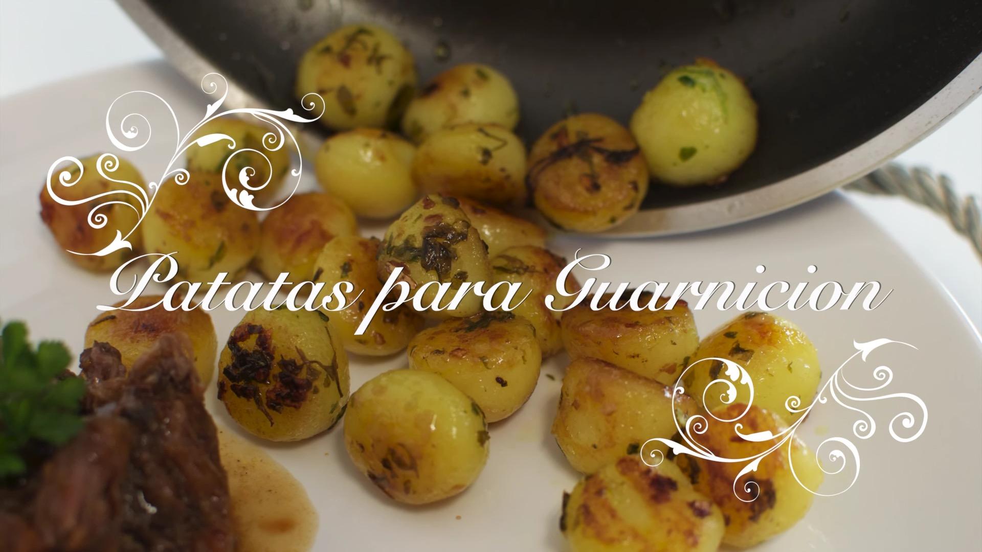 Receta de Patatas para Guarnición