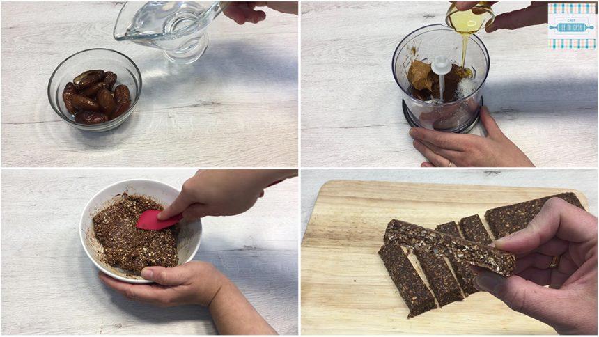 Receta de Barritas de Chocolate