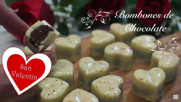 Receta de Bombones de Chocolate Caseros