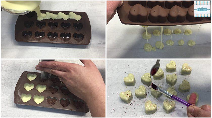 Receta de Bombones de Chocolate Caseros paso a paso 2