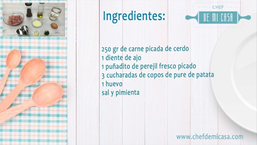 Ingredientes Carne Adobada