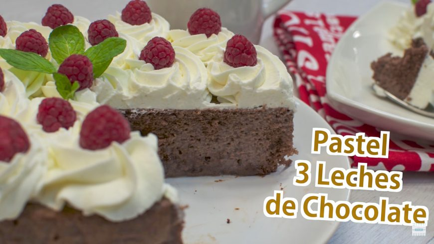 Pastel Tres Leches De Chocolate Tarta 3 Leches Chef De
