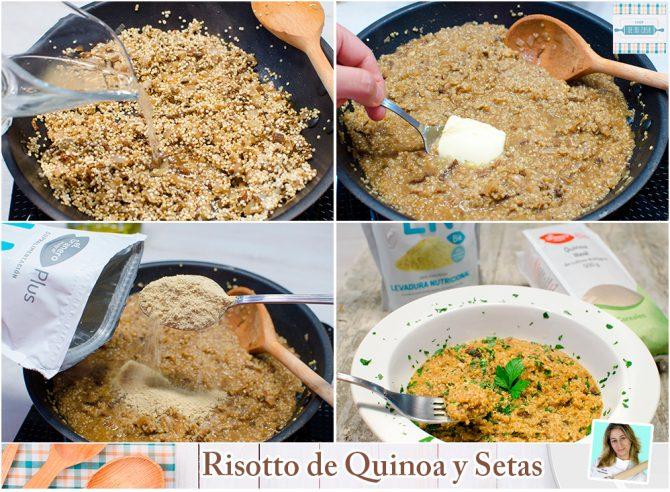 Risotto de quinoa paso a paso 2