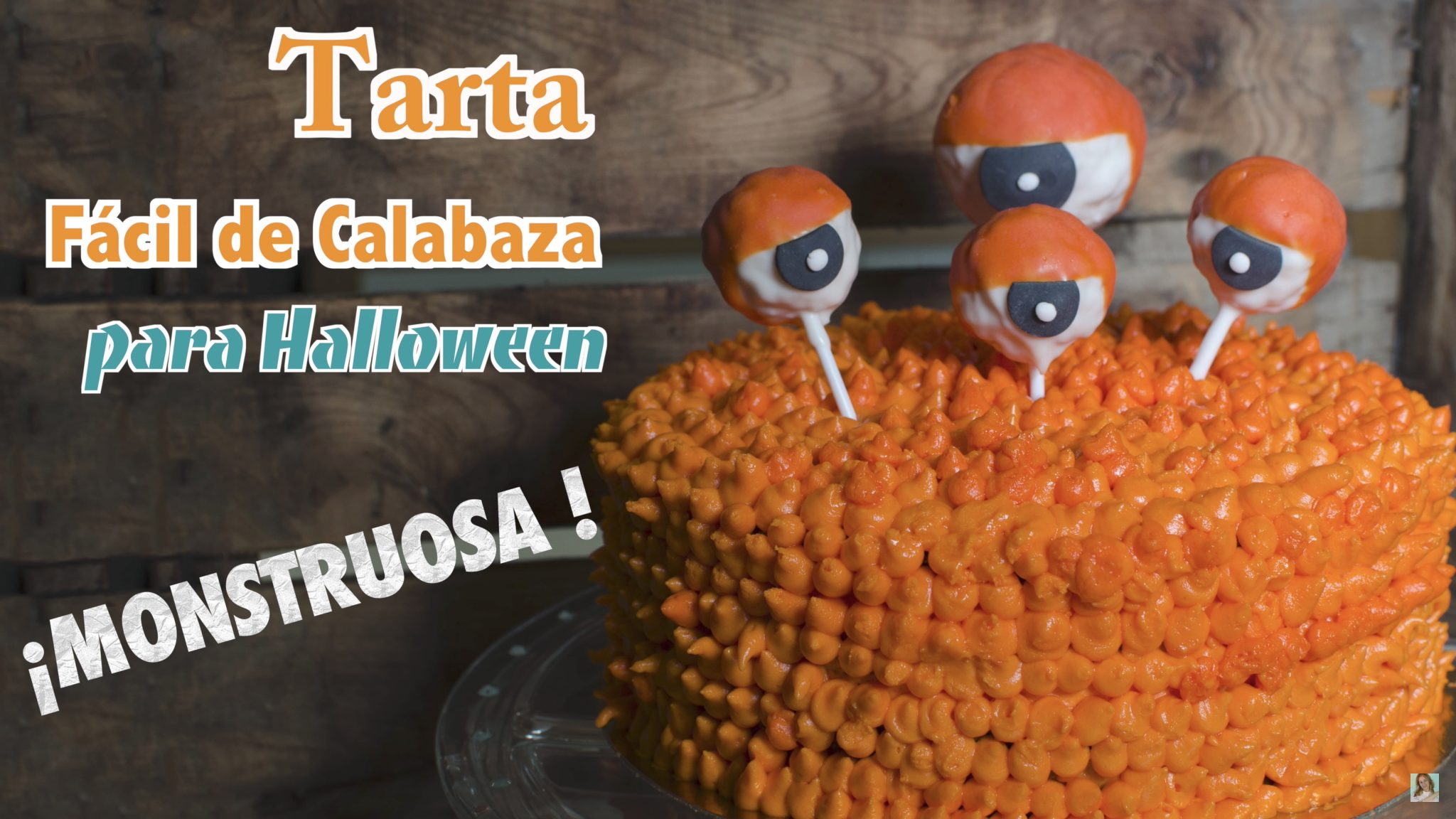 Tarta de Calabaza Facil para Halloween