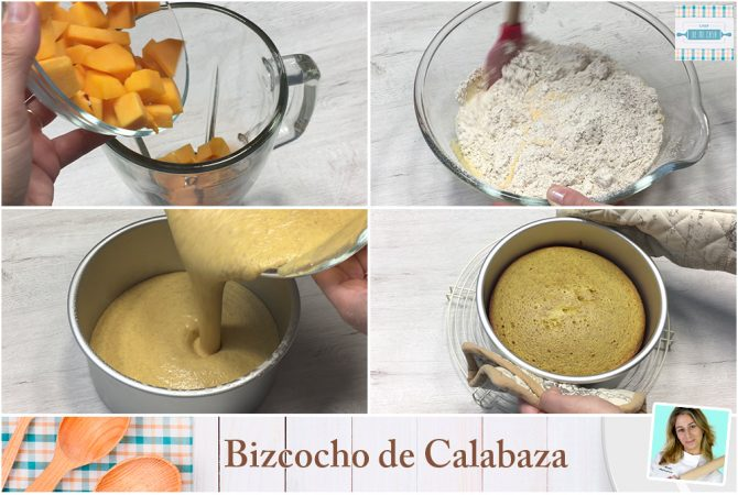 Tarta de Calabaza Facil paso a paso 1