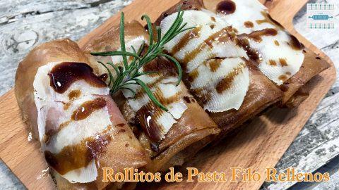 Rollitos de Pasta Filo