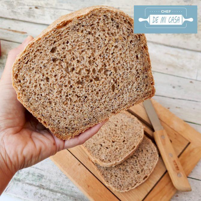 Pan de Molde con Harina Integral