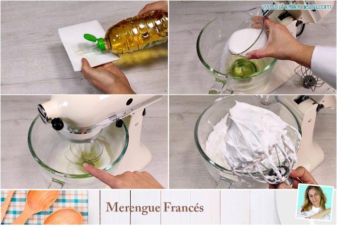 Como hacer Merengue francés paso a paso
