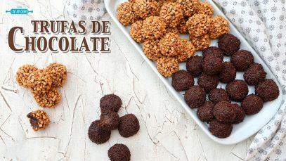 Trufas de Chocolate Caseras 🍫 Receta Fácil, Barata y Sin Horno 💝 ¡Ideales para el Día de la MADRE!