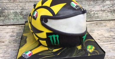 Tarta Casco de Moto Valentino Rossi 1
