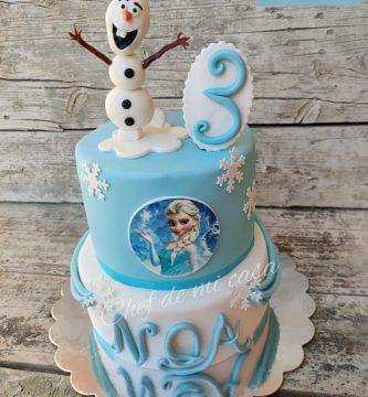 Tarta Frozen 1