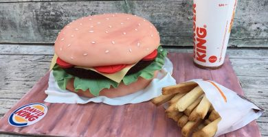 Tarta Hamburguesa Burger King para David 1