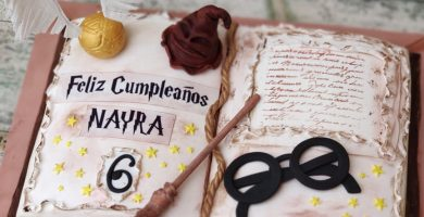 Tarta Harry Potter y galletitas 1
