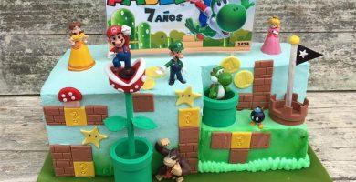 Tarta Mario Bros para Pablo 1