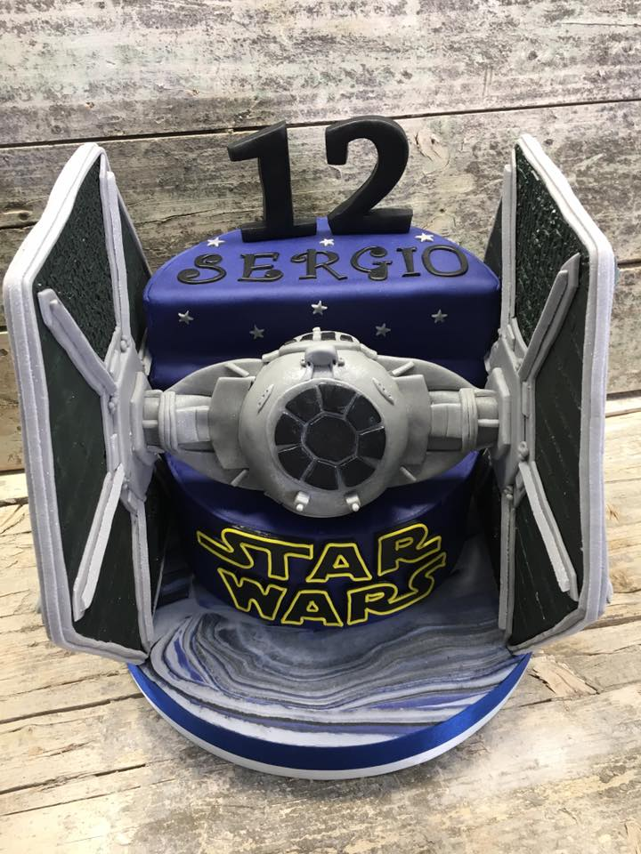 Tarta Star Wars para Sergio 1