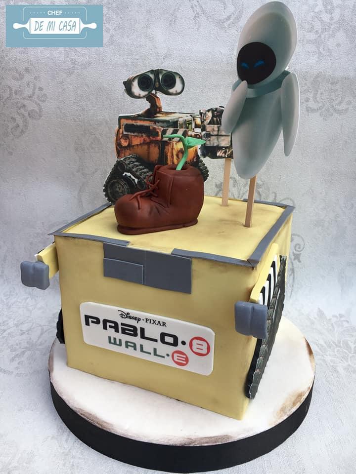Tarta WALL-E Pablo