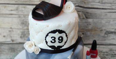 Tarta Zapato de Christian Louboutin 1