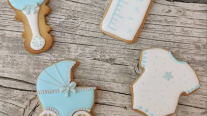 Galletas decoradas para Baby Shower 1