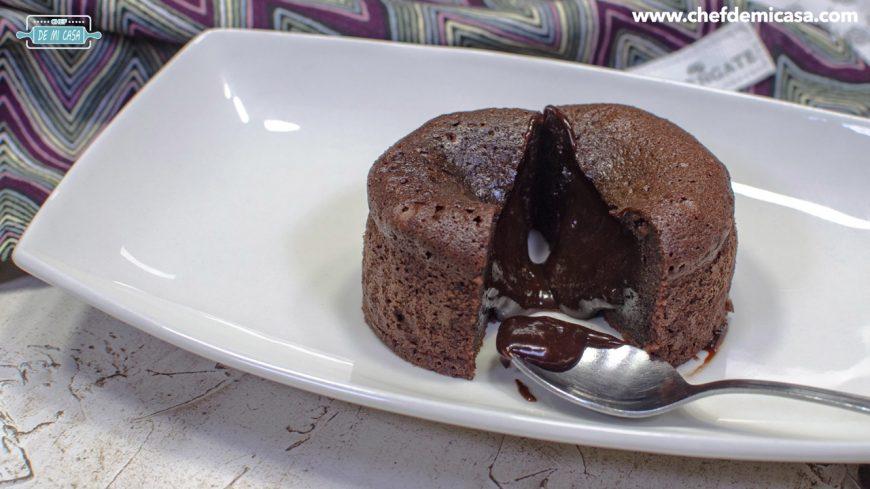 ingredientes Volcán de Chocolate