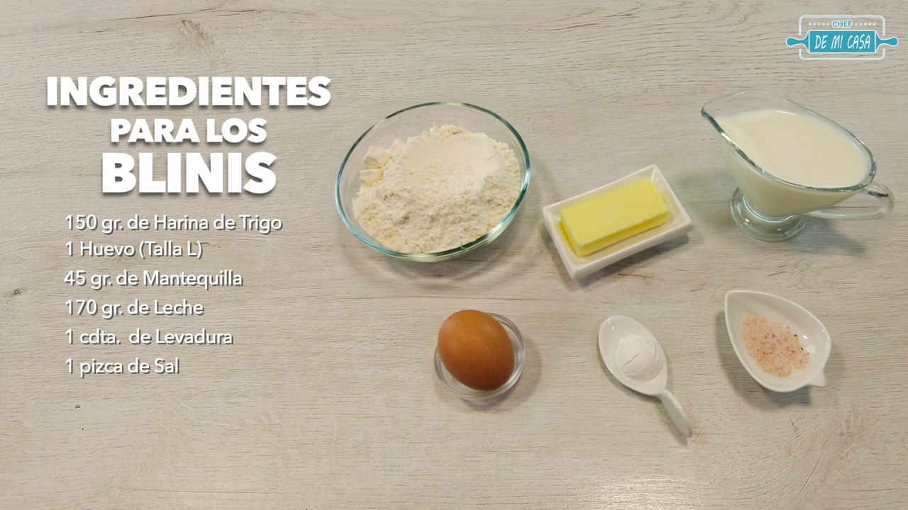 ingredientes masa blinis