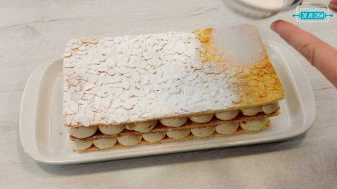 Milhojas de Hojaldre con Crema de Turrón 12