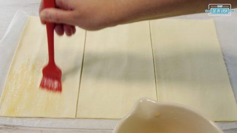 Milhojas de Hojaldre con Crema de Turrón 4