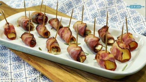 Rollitos de Bacon