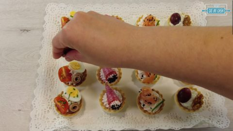 TARTALETAS Saladas Variadas 9